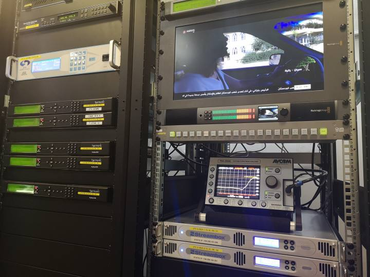 Zagros TV Turnkey Solution